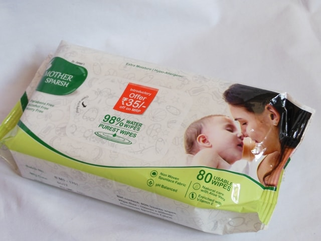 Mothersparsh Water Wipes