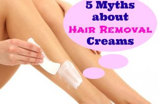 Myths about Hair removal Creams