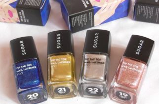 Sugar Cosmetics Tip Tac Toe Nail Lacquer Collection Pro Shades