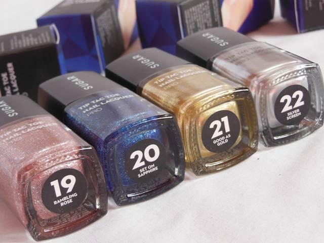 Sugar Cosmetics Tip Tac Toe Nail Lacquer Shades