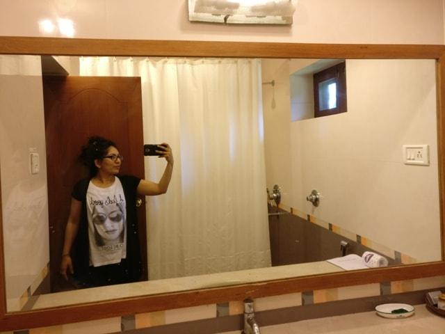 Bathroom at Kairali Cottages Palakkad