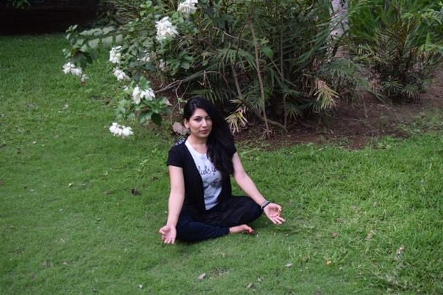 Having fun at Kairali Spa in Kerela