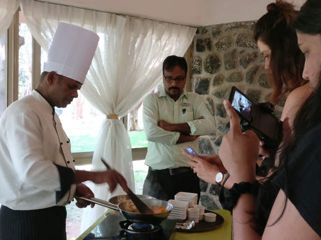 Live Cooking Session at Kairali Resorts