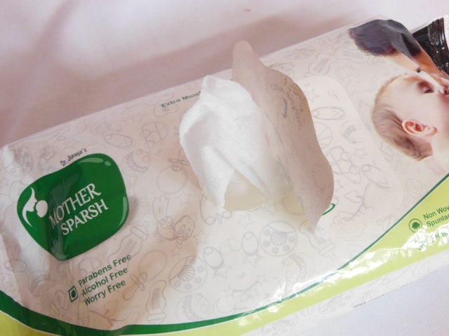 Mothersparsh Baby Wipes Packaging