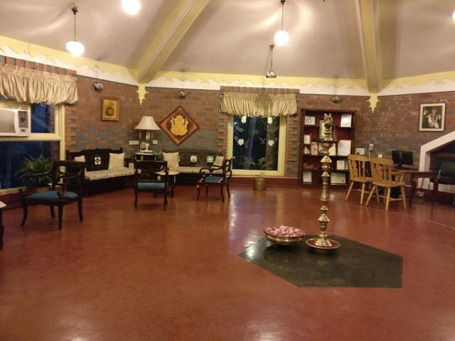 Reception at Kairali Healing Village