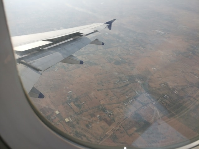 Sky View of Delhi