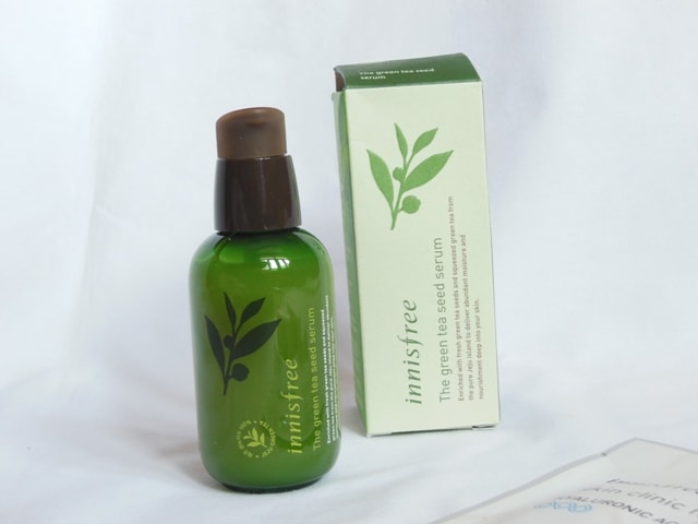 Best Facial Serum - Innisfree Green Tea Seed Serum Packaging