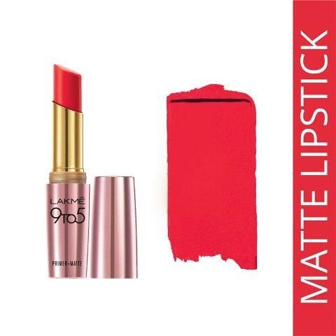 Best Lakme Products -Lakme 9to6 Primer+Matte Lipsticks