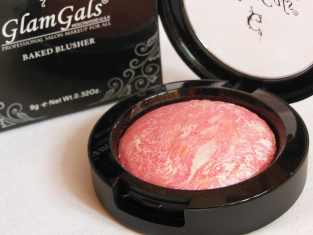 GlamGals Makeup Haul - GlamGals Cosmetics Baked Blusher Packaging