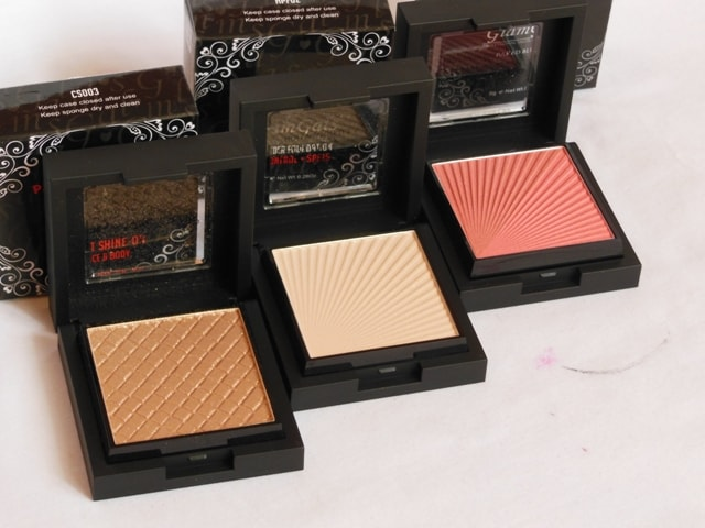 GlamGals Makeup Haul - GlamGals Cosmetics Face Powder Products