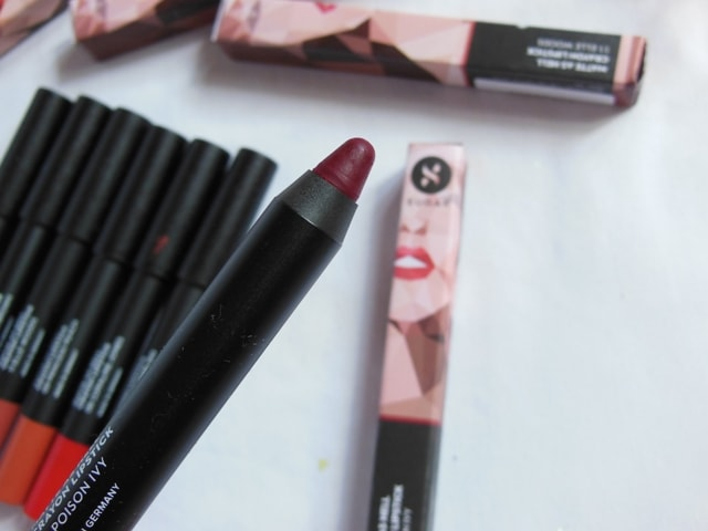 New Sugar Matte As Hell Crayon Lipstick - Poison Ivy