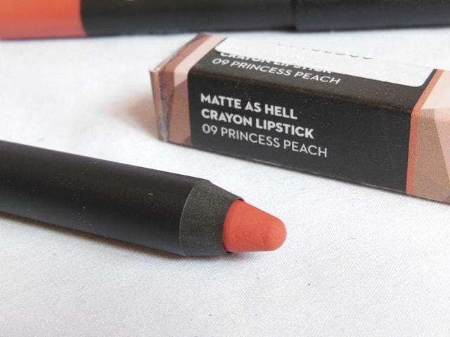 New Sugar Matte As Hell Crayon Lipstick - Princess Peach