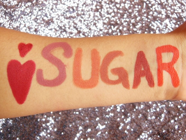 New Sugar Matte As Hell Crayon Lipstick Swatches