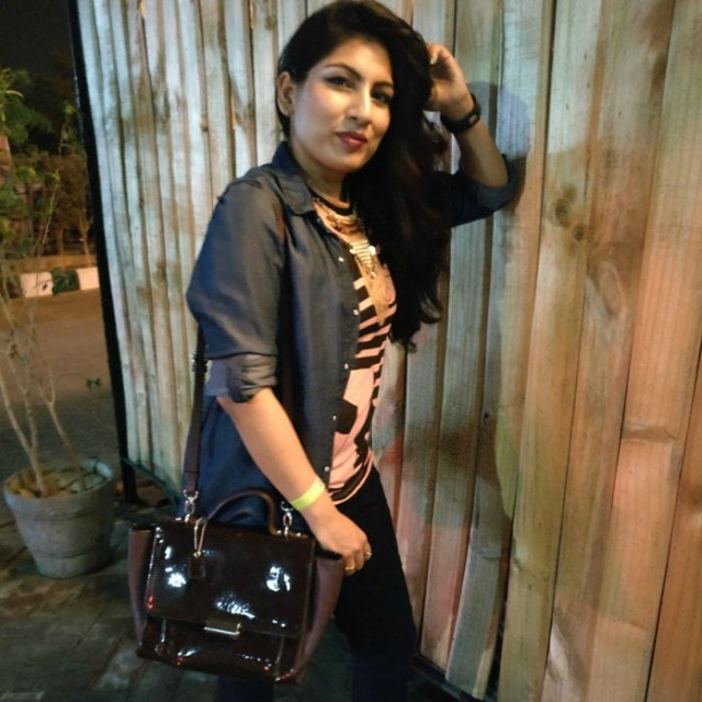OOTD at Colorbar Bloggers Meet