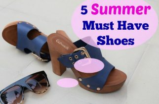 Summer Must Have Shoes ft Reliance FootPrints