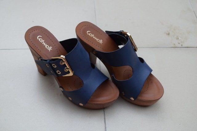 Summer Must Have shoes - Wooden Block Heels Catwalk