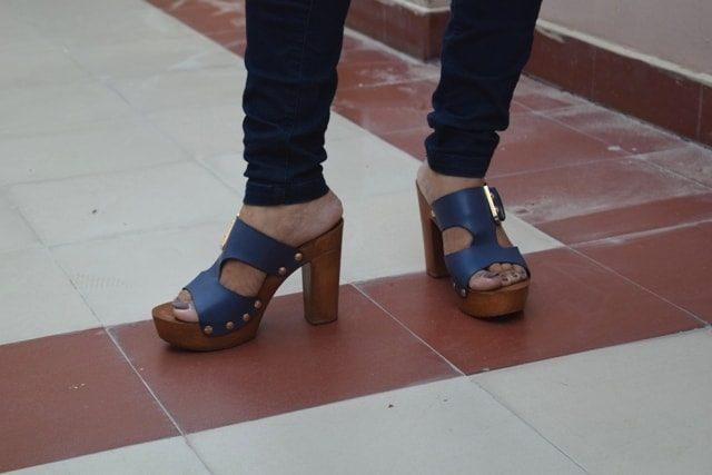 Summer Shoe Trends - Wooden Block heels