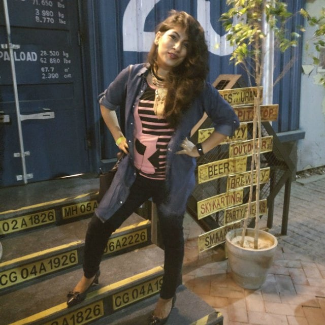 What I wore to Colorbar Bloggers Meet