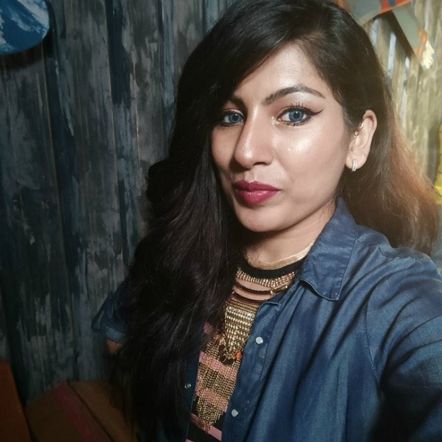 What Makeup I wore to Colorbar Bloggers Meet