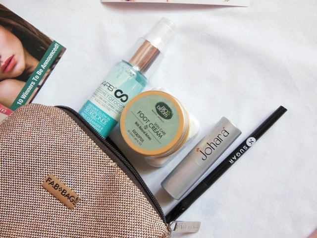 June Fab bag 2017 Products
