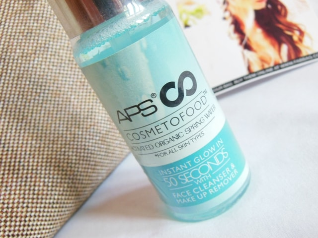 June Fab bag 2017 Review - APS Cosmetofood Organic Spring Water Claims