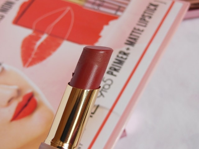 Lakme 9to5 Primer + matte Lipstick- Rosy Sunday