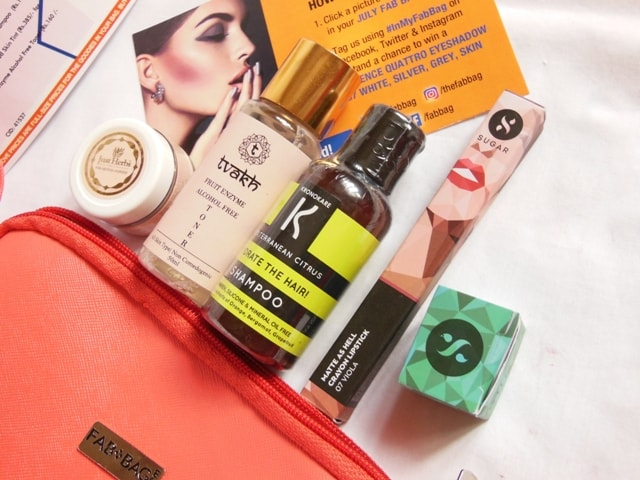 July Fab Bag Review