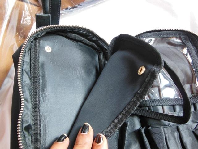 Kinzd Travel Cosmetic Bag Organizer- Detachable Organizer