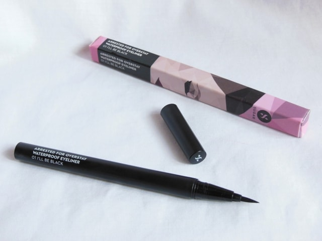 Sugar Arrested for Overstay Waterproof EyeLiner Packaging