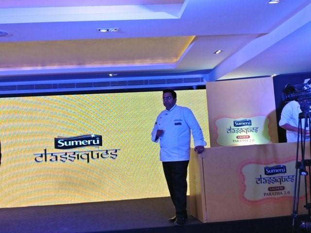Chef Ajay Kapoor Sumeru Classique Parantha Launch