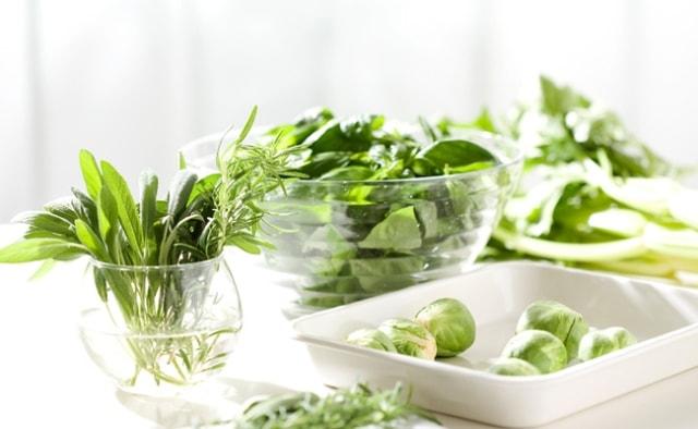 Food for Fast metabolism - Leafy Vegertables
