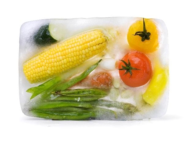 Frozen Food remains fresh for longer