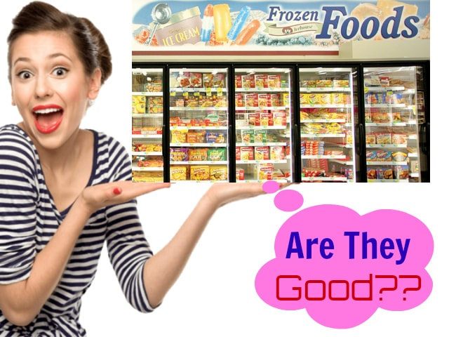 Is frozen food good for you