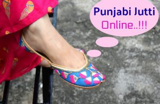 Where to Buy Punjabi Jutti Online India
