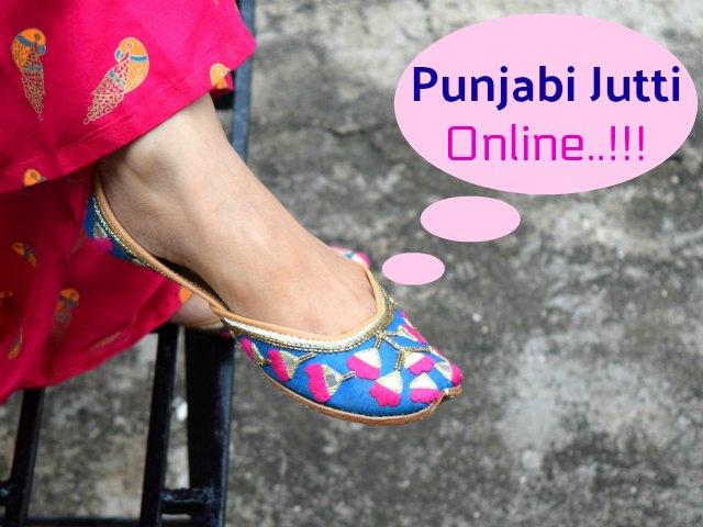Where to Buy Punjabi Jutti Online India