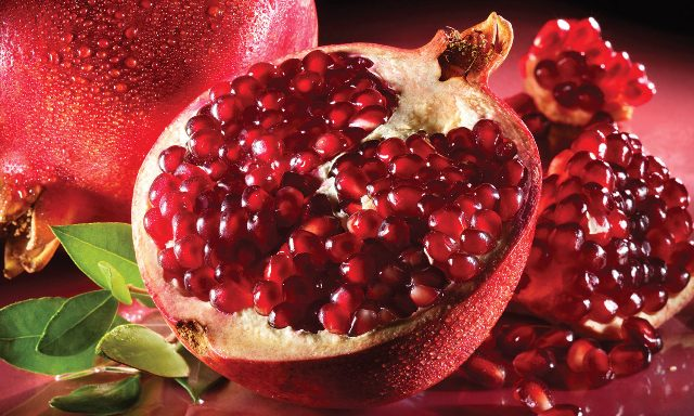 best food for heart blockage - Pomegranate