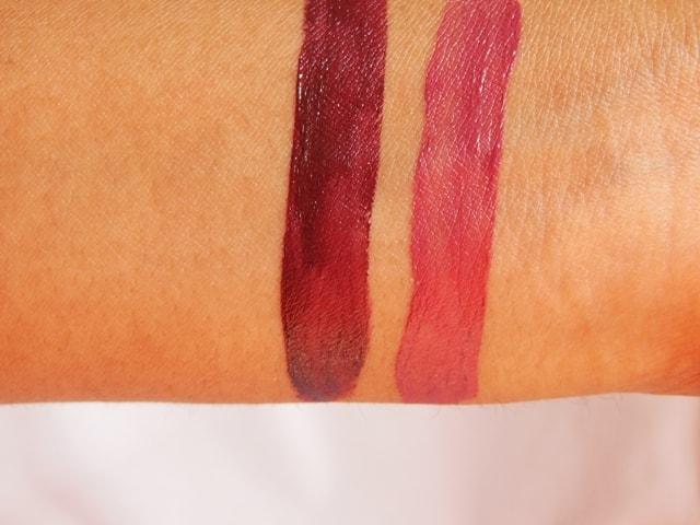 IsaDora Ultra Matt Liquid Lipstick Swatch