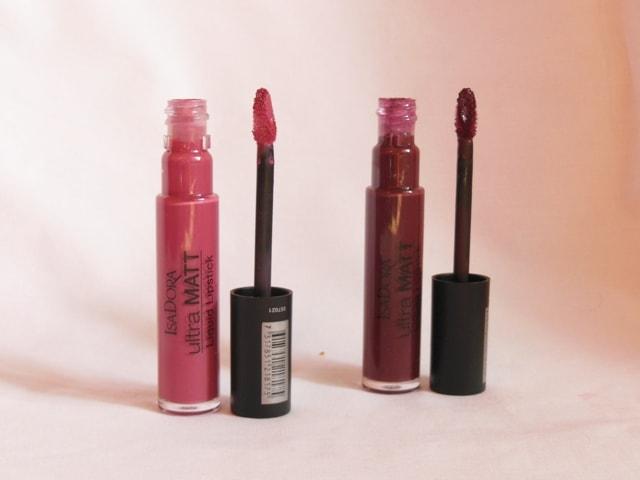 IsaDora Ultra Matt Liquid Lipsticks India