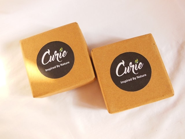 Curie Soaps Packaging