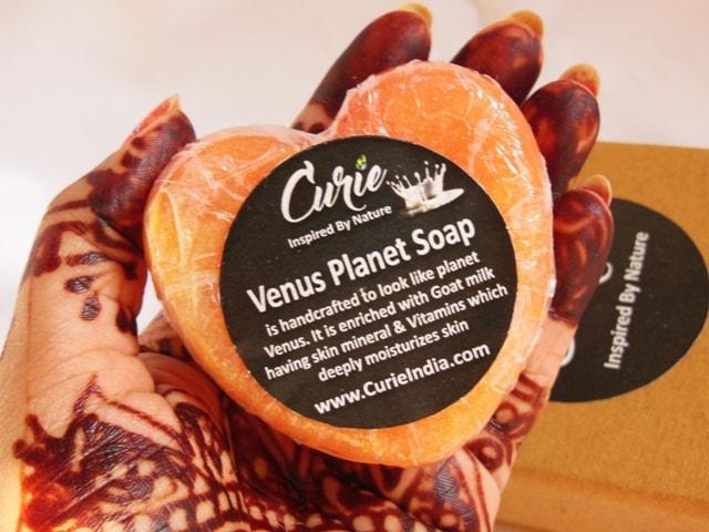 Curie Venus Planet Soap