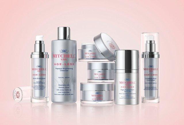 Mitchell USA Age-less Skincare Range India