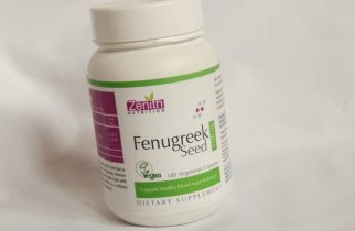 Zenith Nutrition Fenugreek Seed 500mg Supplement Capsules