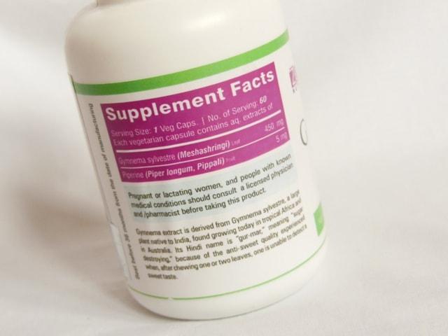 Zenith Nutrition Gymnema Plus Supplement Capsules