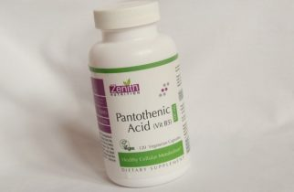 Zenith Nutrition Pantothenic Acid (Vitamin B5), 500mg