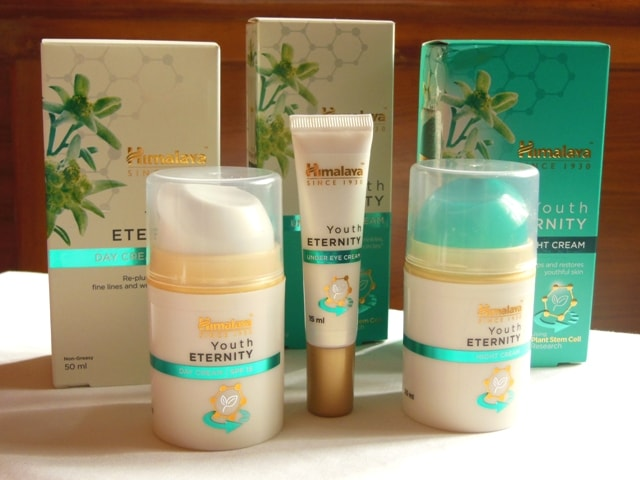 Himalaya Herbals Youth Eternity Skin Care Range Review