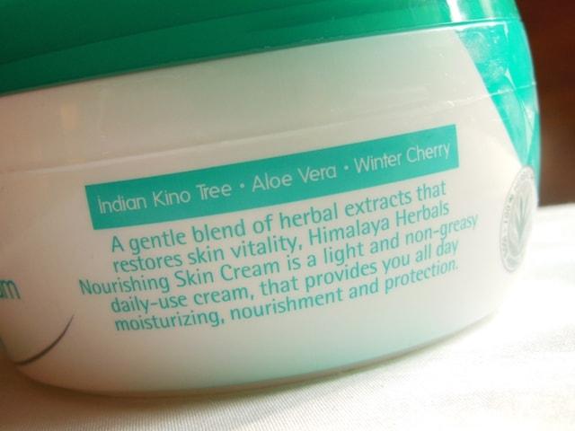 Himalaya Nourishing Skin Cream claims- Winter Skincare