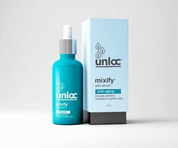 Best Anti-Aging Facial Serums in India- Mixify UNLOC Anti Aging SERUM 2