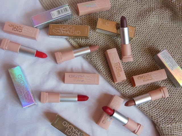 Maybelline GIGI Lipsticks