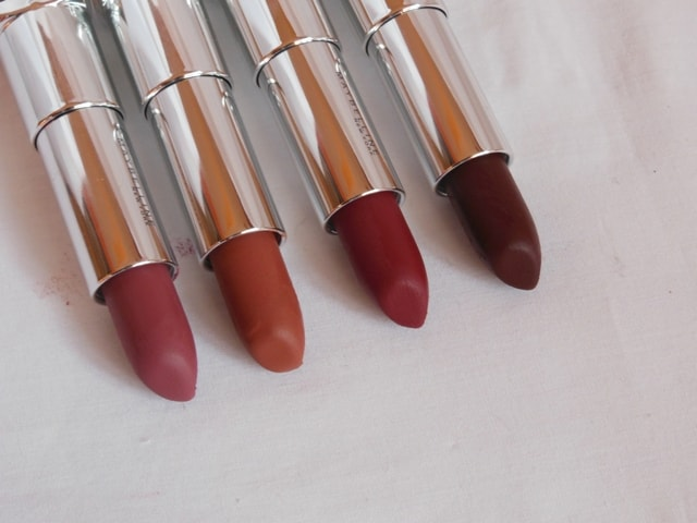 Maybelline Inti MAtte Nudes Creamy Matte Lipsticks