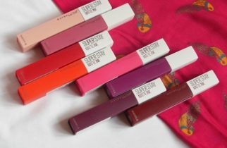 Maybelline Superstay matte Ink Lipstick packaging